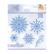 Sara Signature Glittering Snowflakes stanssisetti Snowflake Flurry