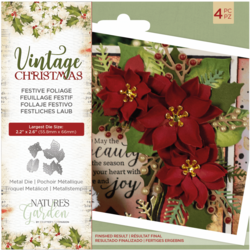 Crafter's Companion Vintage Christmas stanssisetti Festive Foliage