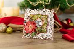 Crafter's Companion Vintage Christmas stanssisetti Yuletide Frames
