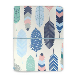 Simple Stories Carpe Diem Feathers A6 Notebook & Passport Holder, kannet