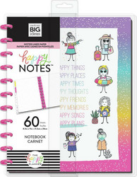 Mambi Big Happy Notes -muistikirja, Stick Girls Happy Plans
