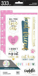 Mambi Happy Planner Dashboard -tarrapakkaus, Feline Good