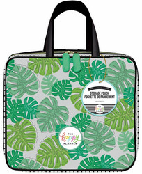 Mambi Happy Planner Storage Case -laukku, Monstera
