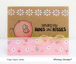 Whimsy Stamps Festive Edger -stanssisetti