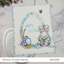 Whimsy Stamps Nested Pierced Egg -stanssisetti