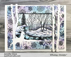 Whimsy Stamps Forest Majesty -stanssisetti