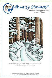 Whimsy Stamps Winter Woods -leimasin