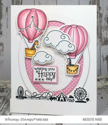 Whimsy Stamps Happy Sky -leimasinsetti