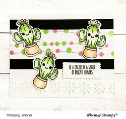 Whimsy Stamps Cute Cacti -stanssisetti