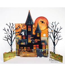 Marianne Design sapluuna Haunted House