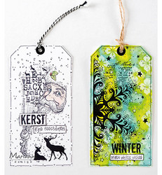 Marianne Design Art Stamps, Snow Crystals -leimasin