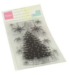 Marianne Design Art Stamps, Christmas Tree -leimasin
