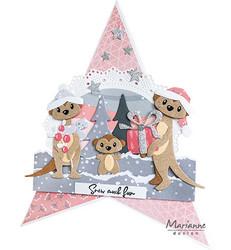 Marianne Design stanssisetti Eline's Meerkats