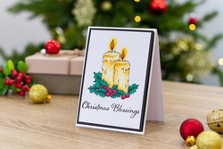 Crafter's Companion leimasinsetti Christmas Blessings