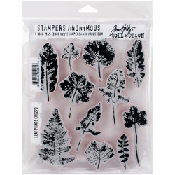 Stampers Anonymous, Tim Holtz leimasinsetti Leaf Prints