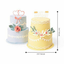 Sizzix Thinlits stanssisetti Cake Pop-Up