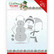 Yvonne Creations Christmas Village stanssisetti Build Up Snowman