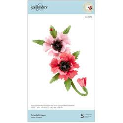 Spellbinders stanssisetti Oriental Poppy