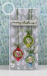 Craft Consortium Noel -leimasinsetti Decorations