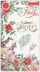 Craft Consortium Noel -leimasinsetti Flora