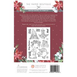 The Paper Boutique leimasinsetti Winter Gnomes