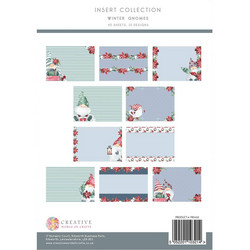 The Paper Boutique paperipakkaus Winter Gnomes Insert Collection, A4