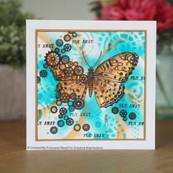 Woodware leimasinsetti Cog Butterfly
