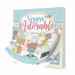 Hunkydory The Square Little Book of Snow Adorable -korttikuvat