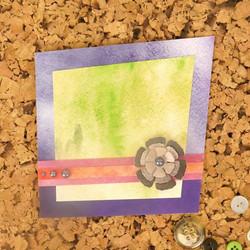 Hunkydory kartonkipakkaus Watercolour Wash, A4, 24 arkkia, 350 gsm