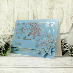 Hunkydory kartonkipakkaus Let it Snow Luxury, Foiled