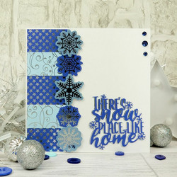 Hunkydory Let it Snow Snowflake Die-Cuts, leikekuvat