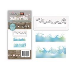 Polkadoodles Waves -sapluuna