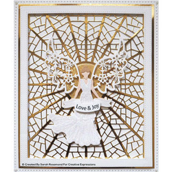 Creative Expressions stanssisetti Festive Angel 2020