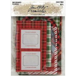 Tim Holtz Idea-Ology Baseboards Christmas