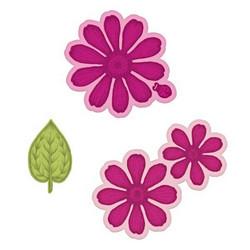 Heartfelt Creations Small Garden Zinnia -stanssisetti