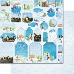 Heartfelt Creations paperipakkaus Festive Winterscapes