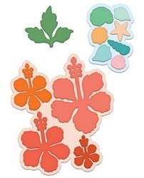 Heartfelt Creations Tropical Hibiscus -stanssisetti