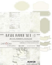Craft O'clock paperipakkaus Basic 3