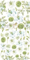 Craft O'clock paperipakkaus Flowers IV, Blue Lilies, Extras To Cut