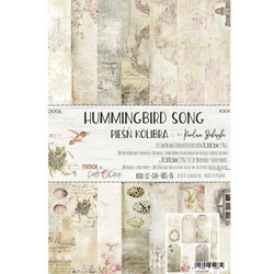 Craft O'clock paperipakkaus Hummingbird Song, A4