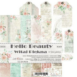 Craft O'clock paperipakkaus Hello Beauty