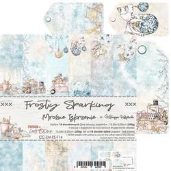 Craft O'clock paperipakkaus Frosty Sparking