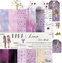 Craft O'clock paperipakkaus Kara & Lina, 12