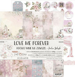 Craft O'clock paperipakkaus Love Me Forever, 12