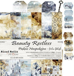Craft O'clock paperipakkaus Beauty Restless, 12