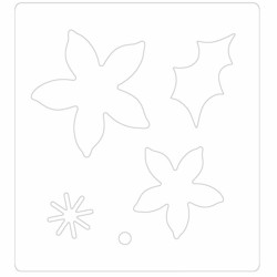 Sizzix BigZ stanssi Winter Poinsettia