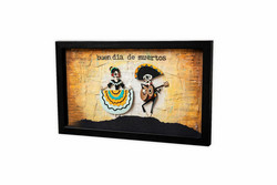 Sizzix Tim Holtz Thinlits stanssisetti Day of the Dead, Colorize