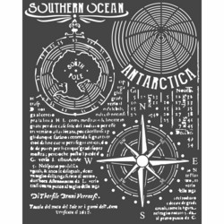 Stamperia Arctic Antarctic sapluuna Southern Ocean