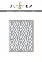 Altenew Layered Stacked Diamonds Cover -stanssi