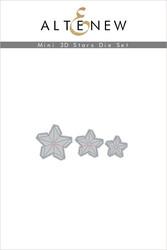 Altenew Mini 3D Stars -stanssi
